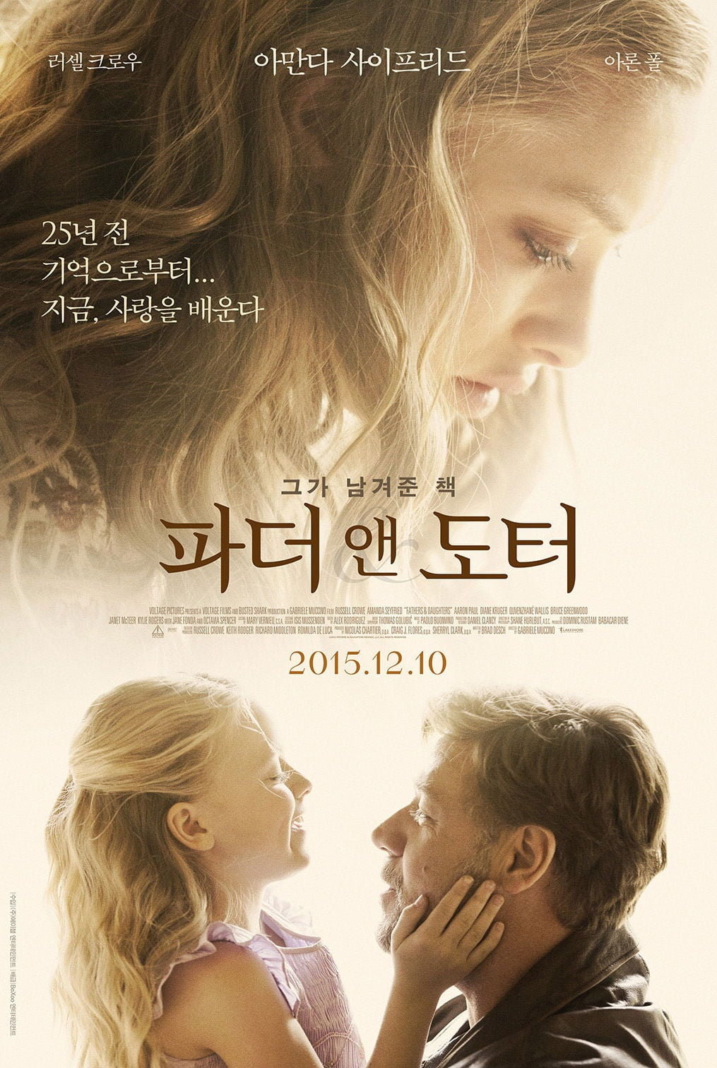 Cha Và Con Gái - Fathers And Daughters 2015